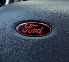 Ford F150 Steering Wheel air bag Oval Emblem Overlay Vinyl Decal Sticker