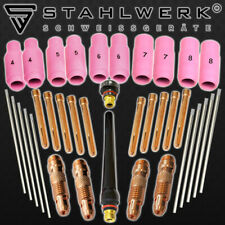 Tig Wear Parts Set 36 Pieces for Welding Wp-Torch Spares Consumables / Accessory