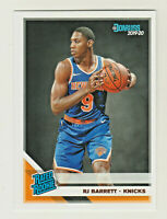 2019-20 Panini Donruss #203 RJ BARRETT RC Rookie New York Knicks QTY AVAILABLE