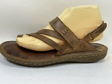 Born Leather Slingback Sandals Womens 10 M