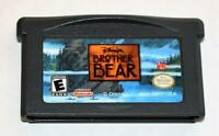 DISNEY'S BROTHER BEAR NINTENDO GAMEBOY ADVANCE SP GBA