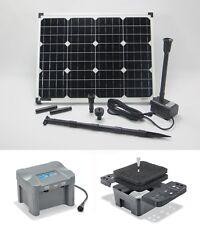 50W Pompe solaire DE BASSIN FILTRE D'immersion Set Batterie