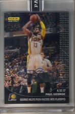 2016 2017 Panini Instant Paul George Black Auto Autograph #1/1 Indiana Pacers