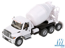 1:87 HO Scale International 7600 White Cement Mixer SceneMaster #949-11678