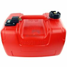 Portable Boat Fuel Tank 3.2 Gallon Yamaha Marine Outboard Fuel Tank W/ Connector