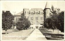 Pullman WA WSC State College Admin Bldg c1915 Real Photo Postcard dcn