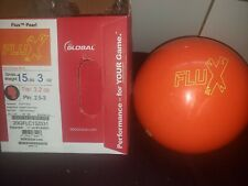 New 900 Global Flux Pearl Bowling Ball | 1st | 15#3oz | Top 3.2oz | Pin 2.5-3""