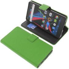 Custodia Per Archos Diamond 2 Plus Book-Style Protettiva Cellulare Libro Verde