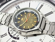 RARE Vintage Orient SK KD King Diver Automatic Brown Dial gents.