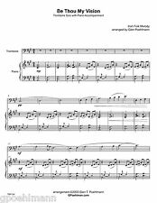 9 hymn arrangements for TROMBONE/EUPHONIUM SOLO.  Sheet music. FREE US shipping!