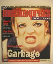 MUSIK EXPRESS SOUNDS 1997 # 4 - GARBAGE DEPECHE MODE STAR WARS HELMET BUSH