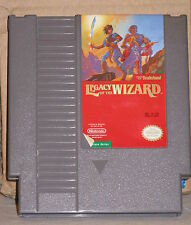 Legacy of the Wizard NES CLEANED TESTED Nintendo Entertainment System Video Game
