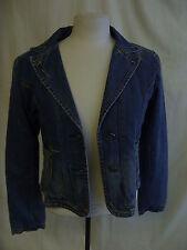 "Ladies Coat - Zelia, size S, 34"" bust, denim jacket, waist length, casual - 1007"