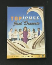 Top Chef: Just Desserts Complete Season 1 One DVD 3 Disc Set