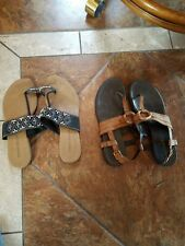 2 Pair, Ladies Size 10 Sandal