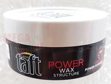 Schwarzkopf Taft POWER WAX STRUCTURE Caffeine Power Formula Hair Styling 75ml.