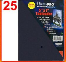 Ultra Pro 5x7 TopLoader (25 count Pack) New & Sealed! Top loader