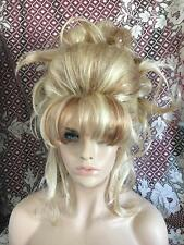 SIN CITY WIGS STUNNING BIG UPDO PRETTY PINNED CURLS SMOOTH POOF BLONDE & STREAKS