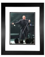 Billy Joel -  001  8x10 Photo Framed 11x14