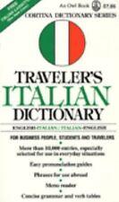Traveler's Italian Dictionary: English-ItalianItalian-English (Cortina Dictionar