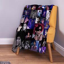 Prince Nelson Singer Coloured Photo Design Soft Fleece Throw Blanket