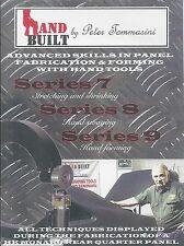 Tommasini HandBuilt 7, 8, 9 DVD Autobody Stretch Shrink Hand Swaging & Forming