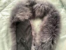 Faux fur grey  neck scarve