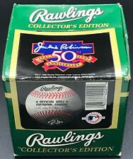 vintage RAWLINGS NATIONAL LEAGUE NL 1997 JACKIE ROBINSON original baseball box