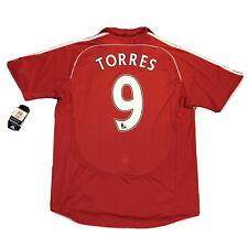 2007/08 Liverpool Home Jersey #9 Torres XL Adidas El Niño Soccer Football NEW