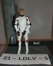 "Star Wars Loose 3.75"" Action Figure - Clone Trooper Commander - Clone Wars"