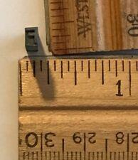 Vintage Antique Metal Printer Printing Press Block Tiny Letter F 7667