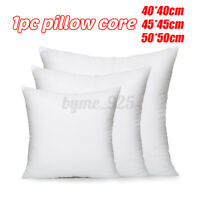 Pillow Inner Core Head Pillow Inner Feather Fabric Filler Cushion Pad Sofa Decor