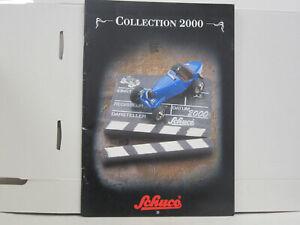 Schuco Katalog, Collection 2000, deutsch, 64 Seiten