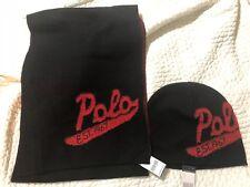 NWT Polo Ralph Lauren Script Scarf Hat