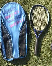 "Weed THE ZONE PLUS Oversize Tennis Racquet 4 3/8"" SL3 Racket USRSA USED VTG"