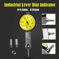 Professional Metric Precision 0.01mm Dial Test Indicator Clock Gauge 0 - 0.08 mm