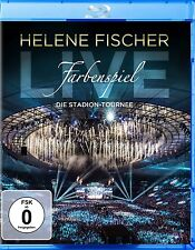 HELENE FISCHER - FARBENSPIEL LIVE: DIE STADION-TOURNEE  BLU-RAY NEU