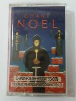 BENEDICTINE MONKS SANTO DOMINGO Chant Noel For The Holiday 4DS7243 Cassette Tape