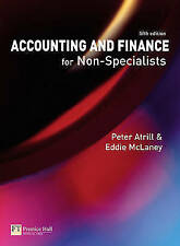 Accounting and Finance for Non-Specialists by McLaney, Eddie Paperback Book