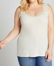 Lane Bryant Scalloped Lace-Trim Cami size 18/20 NWT was $22.99