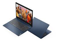 """NEW Lenovo IdeaPad 15.6"""" FHD i3-1005G1 3.4GHz 8GB RAM 256GB SSD Windows 10 Blue"""