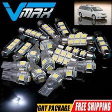 8 X super white Lights Honda Accord LED Interior Package Kit For 2003-2012