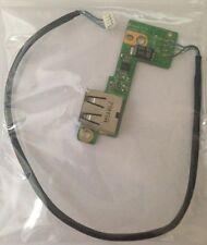 HP Pavilion DV9000 DV9500 DV9700 USB Port Board & Cable DD0AT9THB00