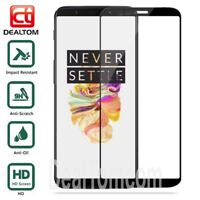 3D Premium Full Cover Tempered Glass Screen Protector Film For Oneplus 5T 2017
