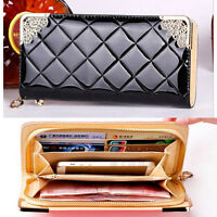 2017 new fashion hot long women purse wallet card holder phone zip handbag gift