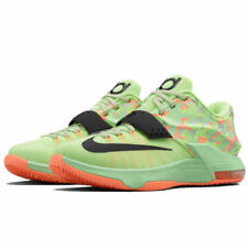 "NIKE KD VII 7 ""EASTER"" LIQUID LIME-BLACK-SUNSET GLOW 653996-304 sz 9.5"