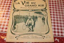 1902 la vie au grand air   203  velo course auto