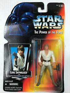 Star Wars , Power of the Force , Luke Skywalker (long sword), 1995