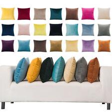 Throw Pillow Case Modern Velvet Soft Cushion Cover Sofa Home Bed Office Decor