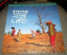 """Arrested Development 3 Years 12"""" X 12"""" 2 Sided Promotional Flat Promo Poster"""